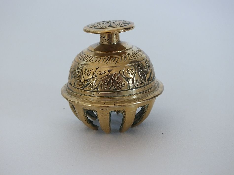 Small Brass Elephant Claw Bell