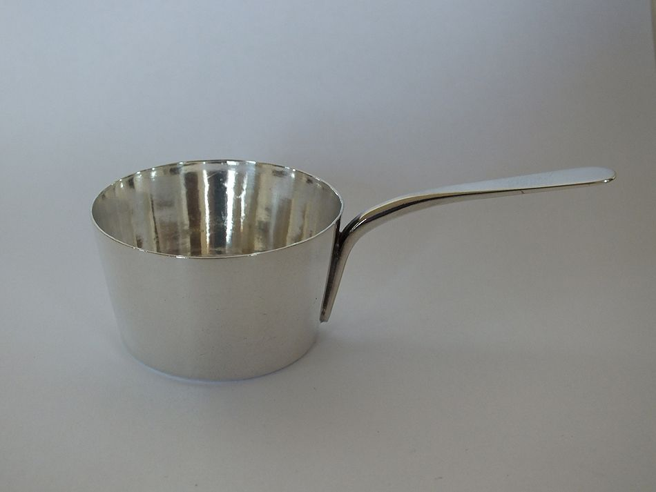 Antique Silverplated Miniature Sauce Serving Pan