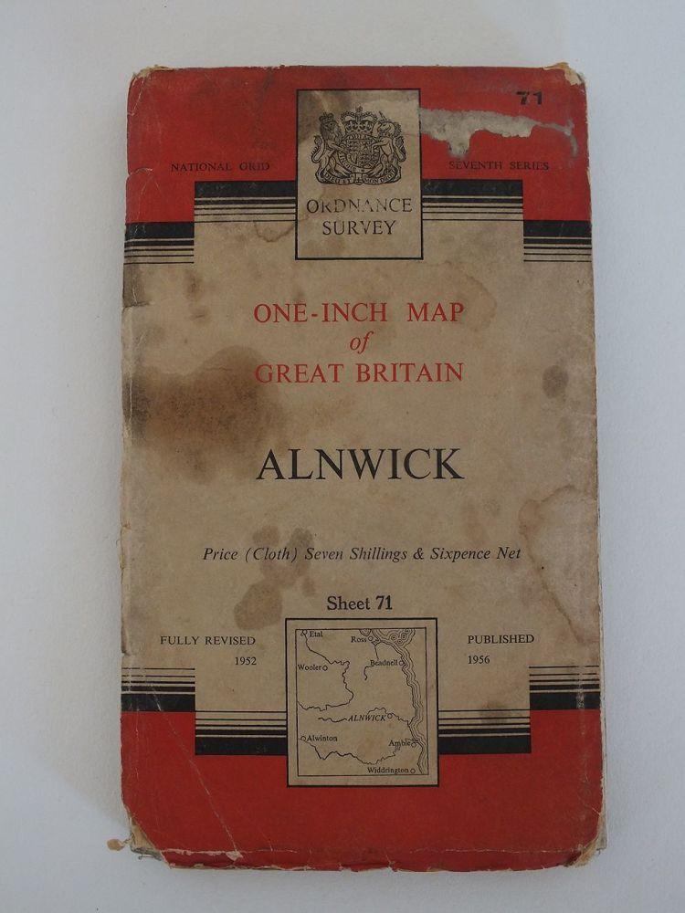Alnwick, Northumberland, Ordnance Survey Maps Of Great Britain Sheet No 71