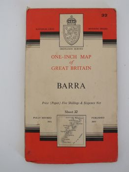 Barra, Ordnance Survey Maps Of Great Britain, Sheet No 32