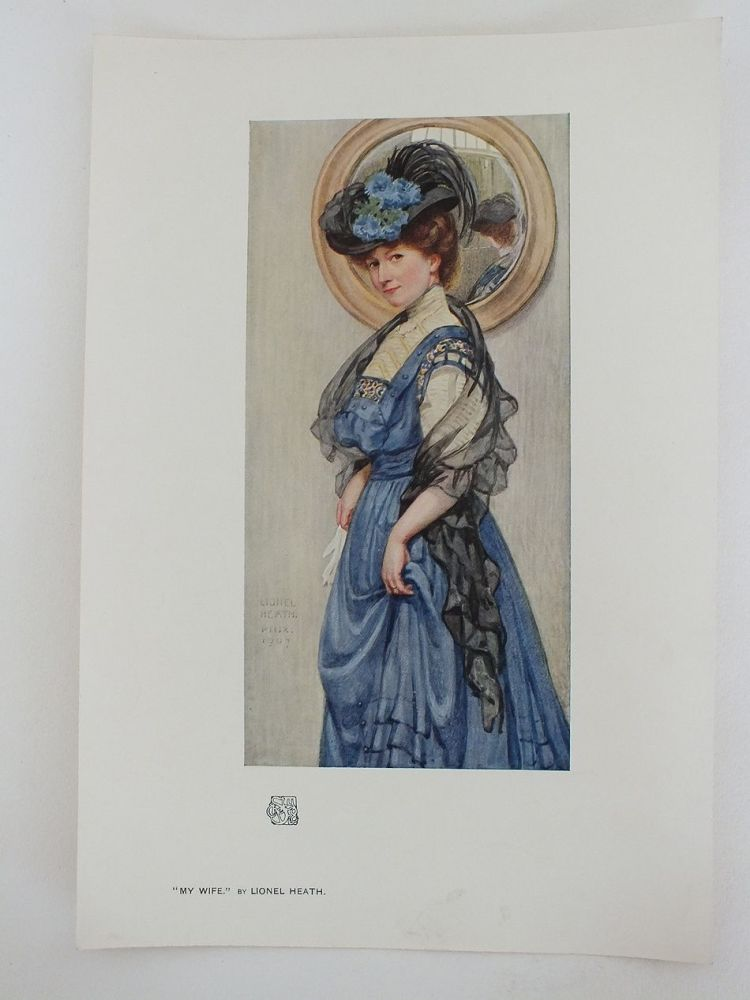 My Wife by Lionel Heath, 1907