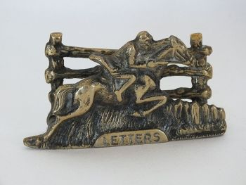 Brass Letter Rack, Horse Riding, Hunting