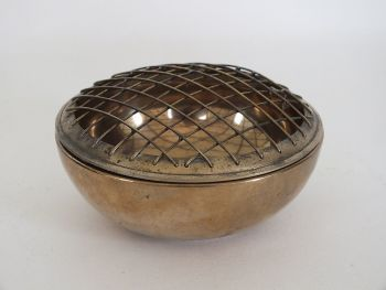 Brass Rose Bowl