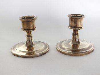 Dwarf Brass Candlesticks