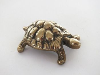 Brass Tortoise Figure. Early / Mid 20th Century