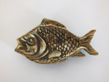 Brass Fish Dish For Trinkets, Keys, Rings