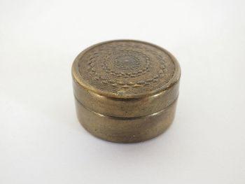 Brass Pill Box / Snuff Box