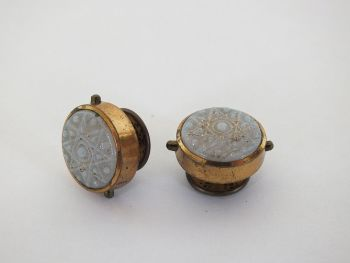 Antique Springbacked Cufflinks