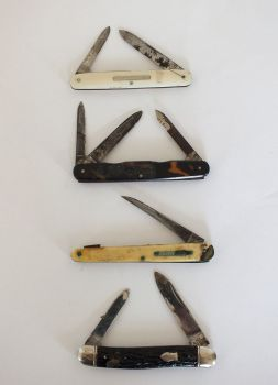 Pocket Knives Job Lot For Restoration Spares Repairs