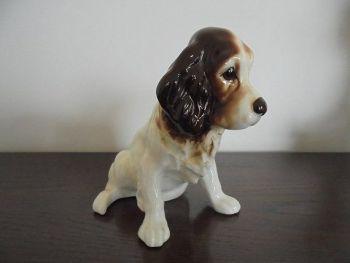 Vintage Sylvac Spaniel Dog Figure Model #18