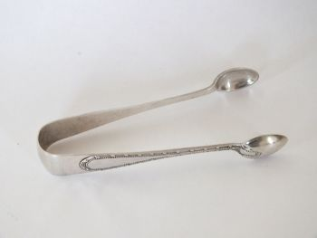 Antique Sugar Cube Tongs Early 1900s Edwardian Era