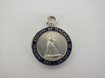 Imperial Society Of Teachers Of Dancing Award Pendant, 1953
