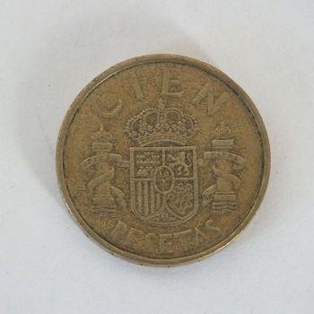 1983 Cien Pesetas Coin