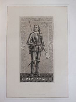 Portrait Of Oliver Cromwell