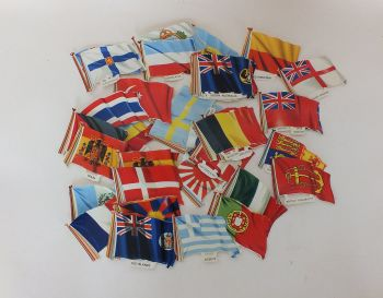 Loose World Flags Scraps, Scrapbooking, Decoupage, Collage, Lot of 45