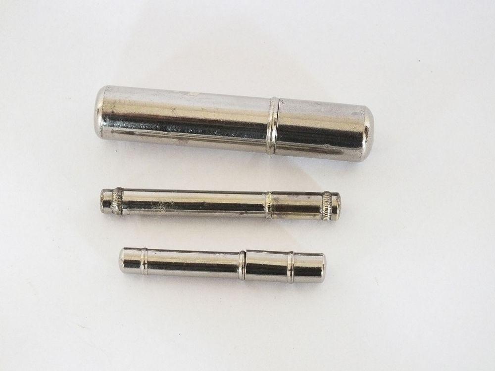 Vintage Pencil Lead Cases Circa 1930s, 1940s, Lot Of 3