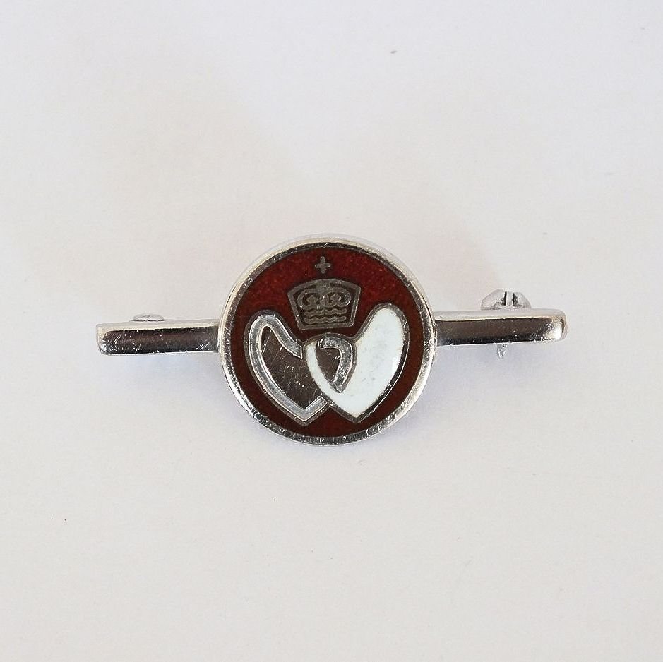 British Blood Donor Badge, Bar Pin Brooch.