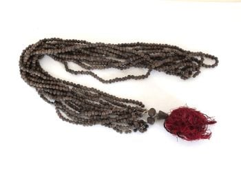 Ethnic Multistrand Bead Necklace