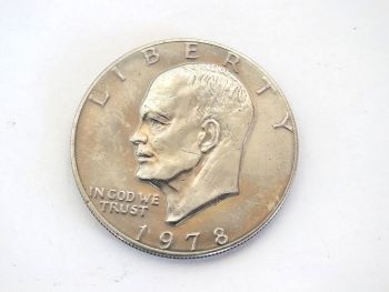 1978 Eisenhower USA One Dollar Coin