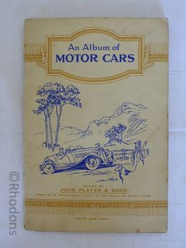 John Player & Sons 1936 Cigarette Motor Cars Card Album, Complete Set