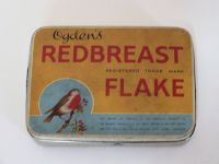 Ogdens Redbreast Flake Tobacco Tin, Large One Pound Size