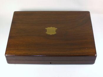 Wooden Cutlery Canteen Box, Empty