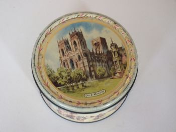 Vintage 1950s Craven Toffee Tin, York Minster