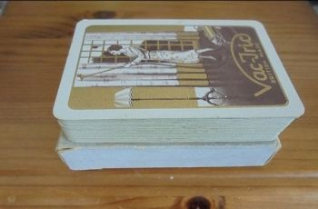 Bridge Playing Cards By Alf Cooke. Advertising Vac-Tric Vacuum Cleaner, Boxed
