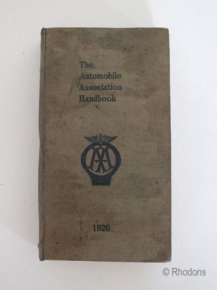 The Automobile Association Handbook 1926 Edition