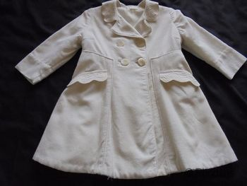 Vintage Childs Coat by Patricia Anne, Beauchamp Place, London. Circa 1940/50s