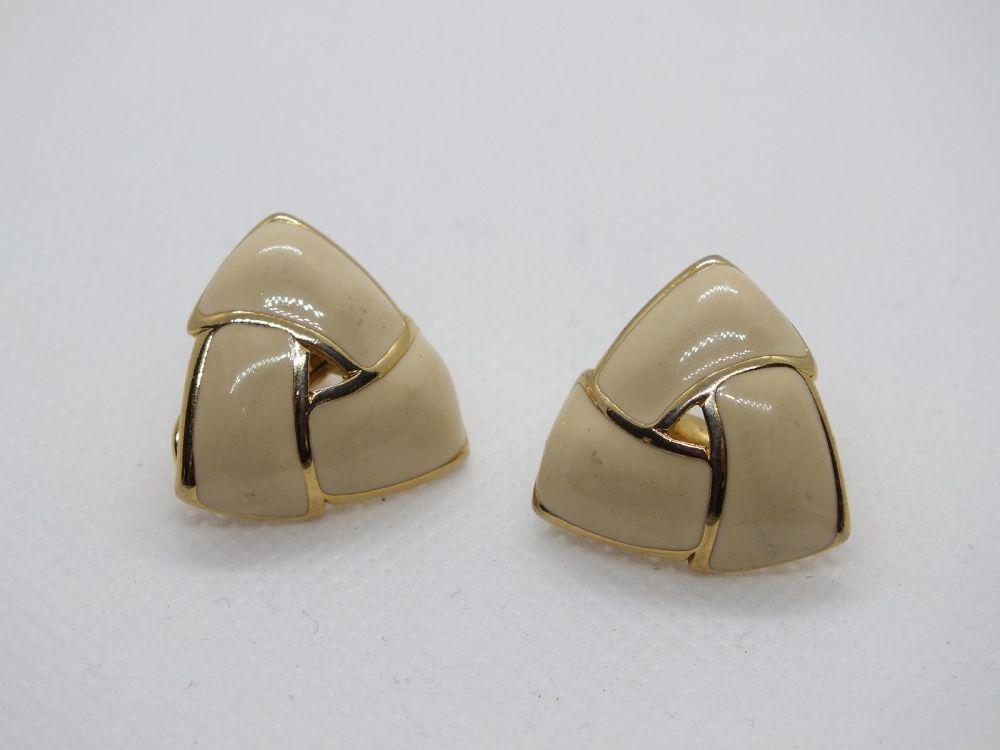 Monet Clip On Womens Earrings