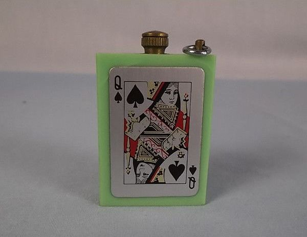 Mitsugiri Permanent Match Striker, Circa 1950s, 1960s. Playing Cards Motif