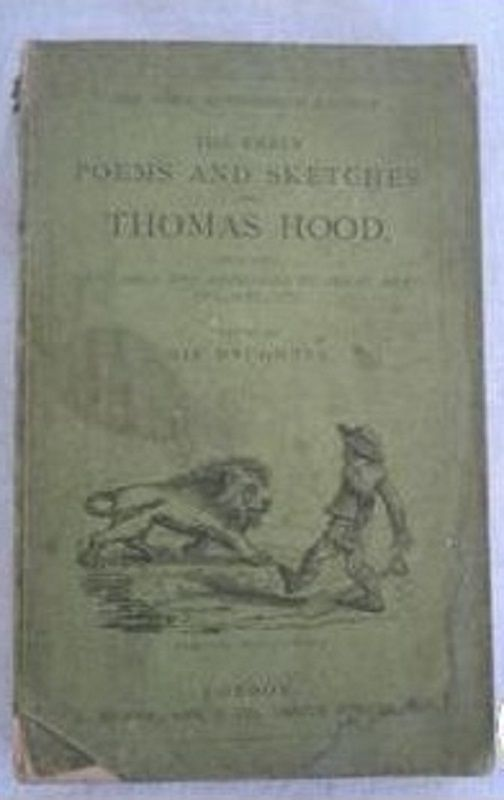 Thomas Hood The Early Poems and Sketches