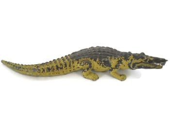 Vintage Britains Young Nile Crocodile Model, 6""