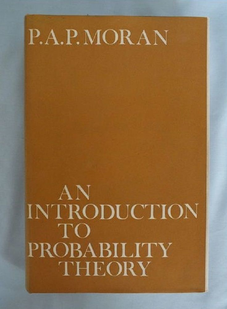 An Introduction to Probability Theory By P A P Moran