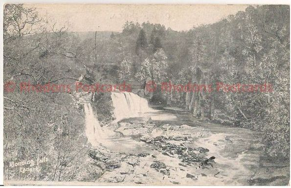 Scotland: Lanark, Lanarkshire, Bonning Falls, Early 1900s