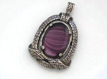 Miracle Jewellery Necklace Pendant, Amethyst