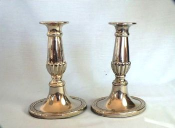 Vintage Candlestick Holders, Pair