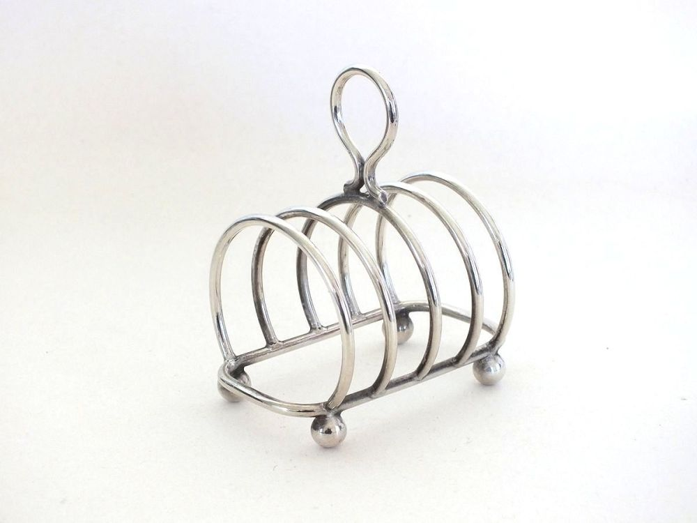 Antique EPNS Toast Rack, Classic Design