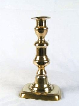 Brass Candlestick, Candleholder Holder, 7.25""