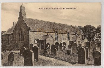 Scotland: Borders, Parish Church, Swinton, Berwickshire