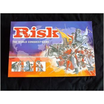 Risk, The World Conquest Game By Parker Brothers, 2004 Edition