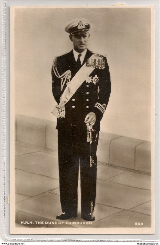 H R H The Duke Of Edinburgh, British Family / Royalty. 1940s RP