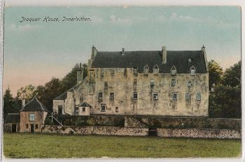 Scotland: Borders, Peeblesshire. Traquair House, Innerleithen (Philco Series No 2366). Early 1900s Photo Postcard