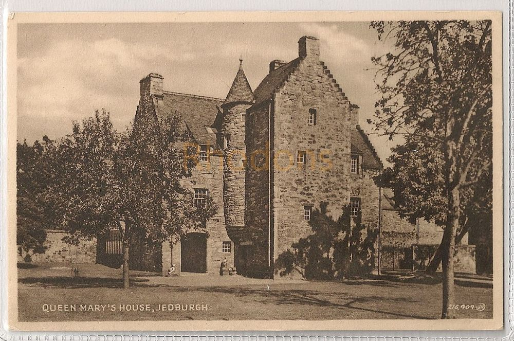 Scotland: Borders. Queen Marys House, Jedburgh