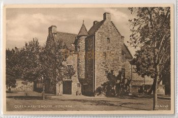 Scotland: Borders. Queen Marys House, Jedburgh