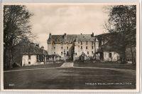 Scotland: Borders. Traquair House Near Innerleithen. Real Photo Postcard