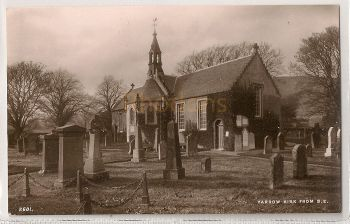 Scotland: Borders. Yarrow Kirk From South East. Photo Postcard