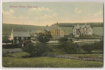 Scotland: Borders. Grants House, East End, Berwickshire. Early 1900s Postcard Photo View