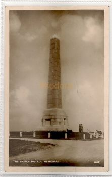 England: Kent.The Dover Patrol Memorial, St Margarets Bay. Real Photo Postcard